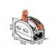 ELS Szybkozłączka uniwersalna 2x0,08-4mm² - schemat