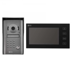 EMOS WIDEODOMOFON EKRAN LCD KOLOROWY DRZWI+BRAMA IP44 RL-10M (H1014)