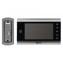 EMOS WIDEODOMOFON EKRAN LCD KOLOROWY DRZWI+BRAMA IP44 MULTI H2013