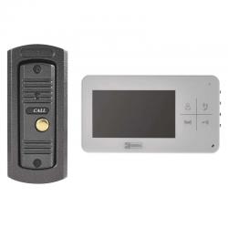EMOS WIDEODOMOFON EKRAN LCD KOLOROWY 4,3'' DRZWI+BRAMA IP44 H1134