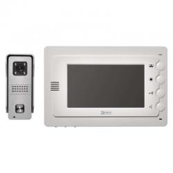 EMOS WIDEODOMOFON EKRAN LCD KOLOROWY DRZWI+BRAMA IP44 H2016
