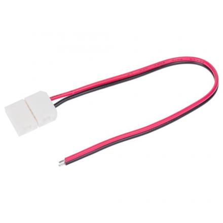Złączka click jednostronna 2 PIN 8mm do taśm LED