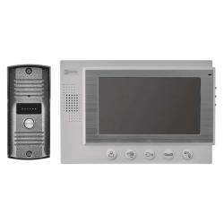 EMOS WIDEODOMOFON EKRAN LCD KOLOROWY DRZWI+BRAMA IP44 MULTI H2017