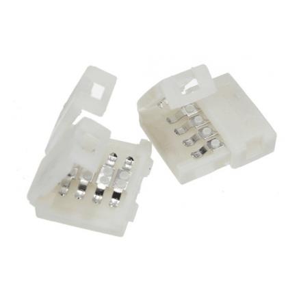 Złączka click 2 klipsy 10mm do taśm LED wielokolorowych