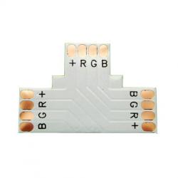 Złączka typ T 4 PIN 10mm do taśm LED wielokolorowych