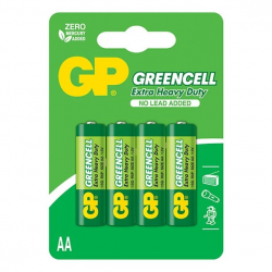 GP Bateria GreenCell R6 AA 1.5V 4szt.