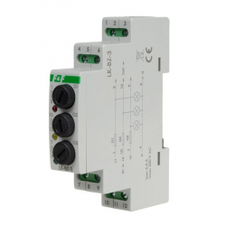 F&F Lampka kontrolna 3F + Moduł bezpiecznikowy 3P na wymienne wkładki topikowe LK-BZ-3 K