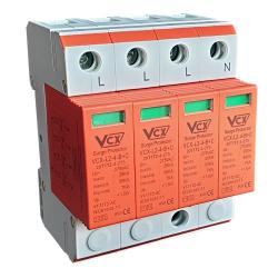 VCX Ogranicznik ochronnik przepięć 4P klasa B+C