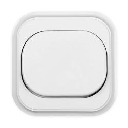 TIMEX ECO Przycisk podtynkowy łącznik zwierny dzwonek/światło WP-7C biały