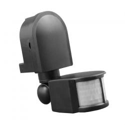 BEMKO Czujnik ruchu sensor IR automat zmierzchowy natynkowy IP44 180° czarny SES10BL