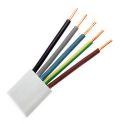 Mercor Przewód instalacyjny drut YDYp płaski 5x1,5mm² 750V 1mb