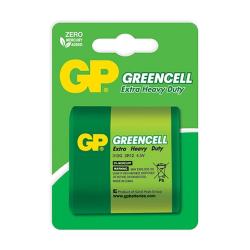 """GP Bateria GreenCell 3R12 """"płaska"""" 4.5V"""