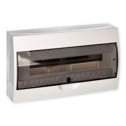 SCHNEIDER Rozdzielnica natynkowa 1x18 IP40 dymna EZ9E118S2S