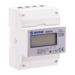 VCX Licznik energii elektrycznej na szynę cyfrowy 3F 10(100)A SDM72D (MID)