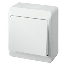 Elektro-Plast HERMES Łącznik krzyżowy natynkowy IP44 biały 0338-02