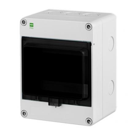 Elektro-Plast Rozdzielnica natynkowa HERMETICA RN-1x6 IP65 szara 2203-01