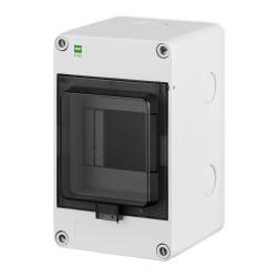 Elektro-Plast Rozdzielnica natynkowa HERMETICA RN-1x4 IP65 szara 2202-01