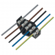 ELEKTRO-PLAST Płytka odgałęźna, 5-torowa, 10 mm² 0963-00