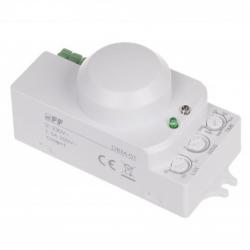 F&F Czujnik ruchu/obecności mikrofalowy Automat zmierzchowy natynkowy 360° DRM-01