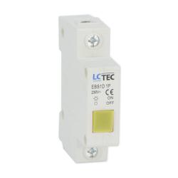 LC Lampka sygnalizacyjna kontrolna LED 1F żółta