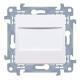 SIMON 10 Zaślepka z mostkiem do ramki biała CPS.01/11