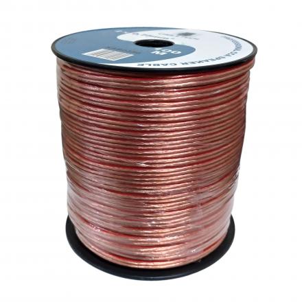 CABLETECH Przewód kabel głośnikowy TLYp CCA 2x0,75 mm² 100mb
