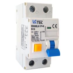 LC Wyłącznik różnicowonadprądowy 1P+N 10A typ AC EBS9BLN