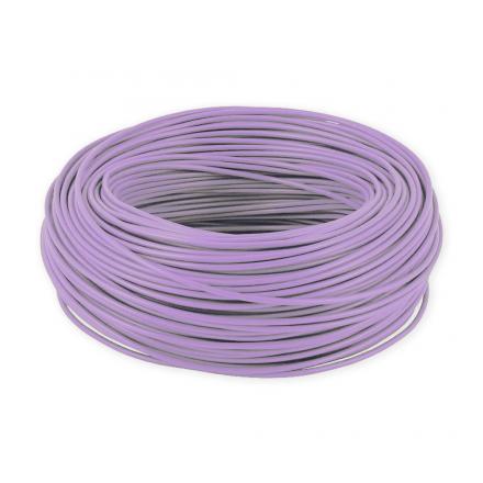ElektroKabel Przewód linka H05V-K LgY 0,5 mm² 500V fioletowy rolka 100mb