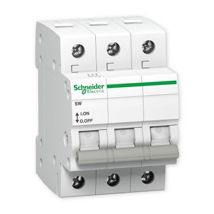 SCHNEIDER Rozłącznik izolacyjny 3P 63A SW A9S62363