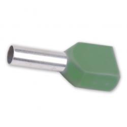Tulejka kablowa izolacyjna podwójna 2×6 mm2 100 sztuk