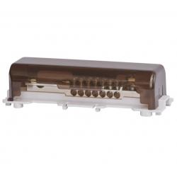 F-ELEKTRO Szyna wyrównująca potencjał duża na szynę 7x25, 1x50, 1x30*4 F2.0112
