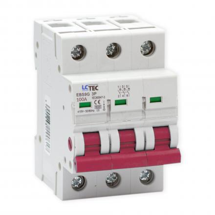 LC Rozłącznik modułowy izolacyjny 3P 100A