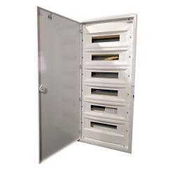 ETI Rozdzielnica p/t metalowy front 6x18 ERP 18-6 (N+PE) DIDO 001101218