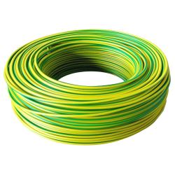 Przewód linka LgY 1,5 mm² 750V żółto-zielony 100mb