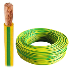 ElektroKabel Przewód linka LgY 2,5mm² 750V żółto-zielony 100mb