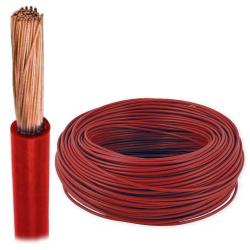 Przewód linka LgY 4mm² 750V czerwony 100mb