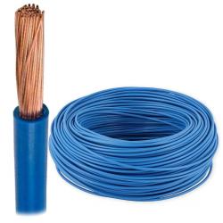 Przewód linka H07V-K LgY 4mm² 750V niebieski rolka 100mb