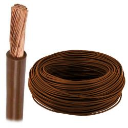 Przewód linka H07V-K LgY 4 mm² 750V brązowy 100mb