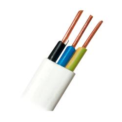 Przewód instalacyjny drut YDYp płaski 3x1,5 750V 1mb