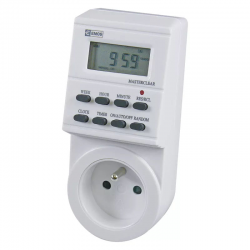 EMOS Programator wyłącznik czasowy cyfrowy do gniazda elektrycznego P5501