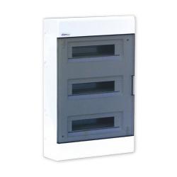 Elektro-Plast Skrzynka Rozdzielnia Rozdzielnica natynkowa 3x18 SRn-54 (N+PE) 1.54