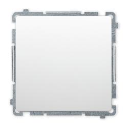 SIMON BASIC Wyłącznik łącznik pojedynczy zwierny do ramki biały BMP1.01/11