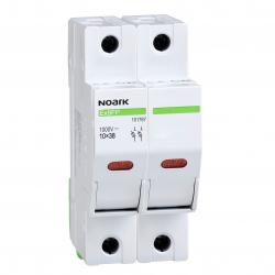 NOARK Podstawa bezpiecznikowa Ex9FP PV z kontrolką gG 10x38 2P 30A 1000VDC 101767