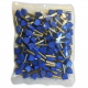 Tulejka kablowa izolacyjna podwójna 2,5 mm2 100 sztuk