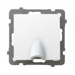 OSPEL AS Wpust do przewodów przyłącz kablowy biały GPPK-1G/M/00