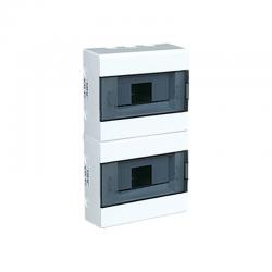 Elektro-Plast Rozdzielnica natynkowa 2x8 IP40 dymna RN-16 (N+PE) 1.4