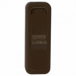 ZAMEL Wyłącznik przelotowy na przewód 2,5A brązowy WSR-940-BRA
