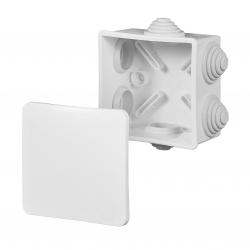 ELEKTRO-PLAST Puszka elektroinstalacyjna FAST-BOX odgałęźna natynkowa IP55 biała 0245-00