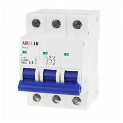 ADELID Wyłącznik nadprądowy 3P C 10A 6kA AC WN6