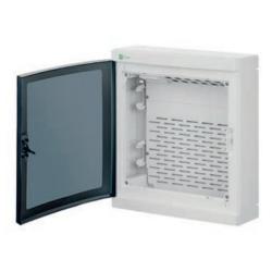 Elektro-Plast Rozdzielnica multimedialna n/t ELEGANT RN-2x12 dymna/biała 2425-21